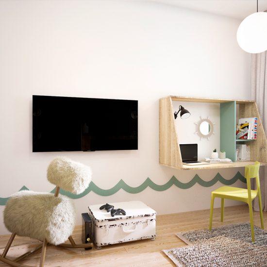 Habitaciones y closets